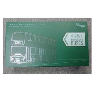 【限量版】 🈹 香港郵政發行 2013 限量珍藏品 - 巴士郵票小型張連巴士模型珍藏禮盒 (全港只得1500套)