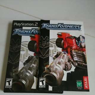 Ps2 Playstation Transformers Armada, Original