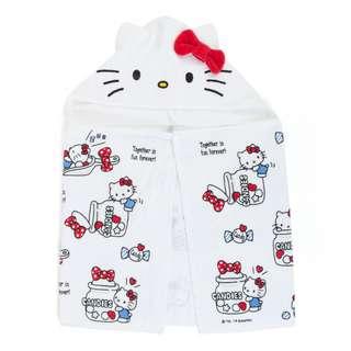 Japan Sanrio Hello Kitty Hooded Towel (Candy)