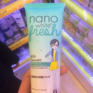 NANO WHITE Fresh Milk Cleanser #Bajet20