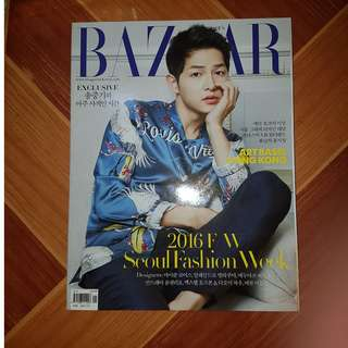 [OFFICIAL!!!] Harper's Bazaar Song Joong Ki Cover