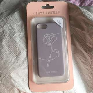 [WTS] OFFICIAL BTS Love Myself UNICEF iPhone 7/8 Phone Case (Grey)