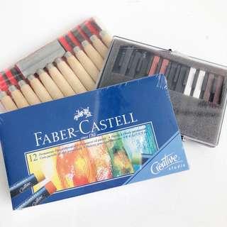 ART SUPPLIES (Carving Tools, Colouring Pastels, Crayons)