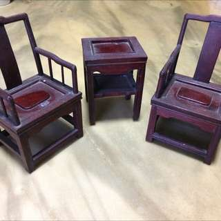 Mini chinese  wood furniture