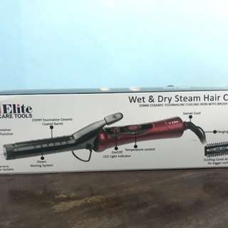 Wet and Dry steam hair curler