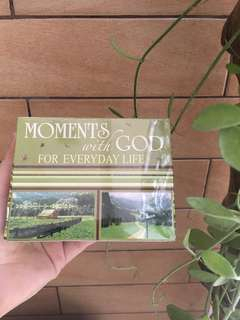 Sealed • Moments with God cards