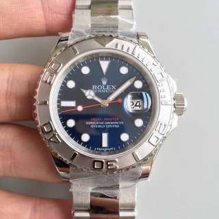 地鐵站交收 勞力士 Rolex 116622 40mm 藍面 JF出品
