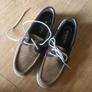 Authentic Sperry Leather Suede