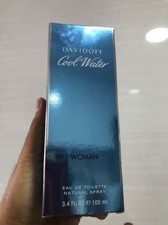 Davidoff Cool Water woman - 100ml authentic