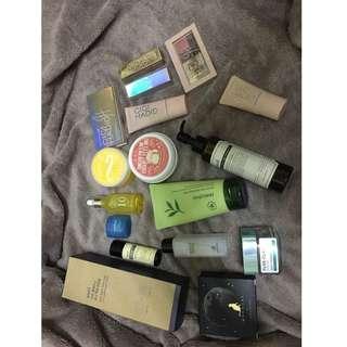 skincare and makeup to letgo #bajet20