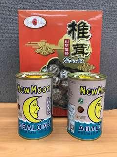 New Moon Abalone New Zealand + Dried Mushroom