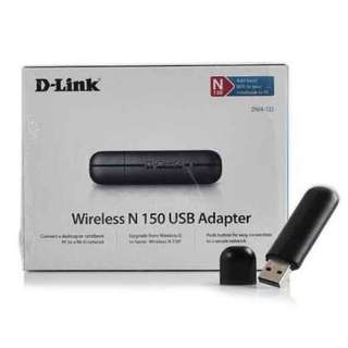 D-link DWA-123 Wireless N 150 USB Adapter Desktop and Laptop Compatible
