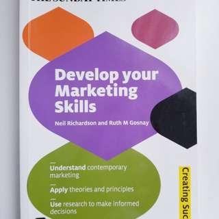 Develop marketing skills