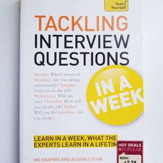 Tackling interview questions