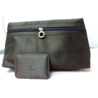 BVLGARI x Emirates Cosmetic Bag