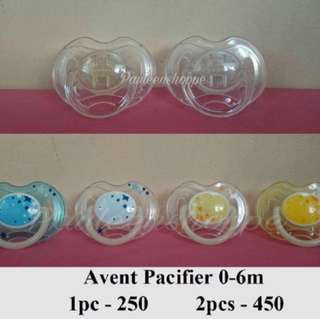 Avent Pacifier 0-6 mos. Glow in the Dark