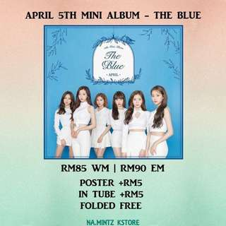 PRE-ORDER APRIL 5TH MINI ALBUM - THE BLUE