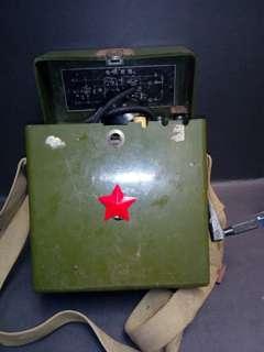 六十年代军用战场手摇电话