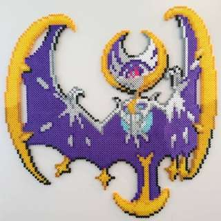 Hama beads design Anime pokemon huge lunala