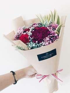3s Rose bouquet