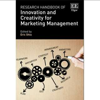 Research Handbook of Innovation and Creativity for Marketing Management eBook