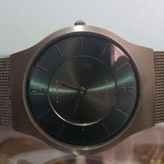 Preloved Vintage Skagen Titanium watch