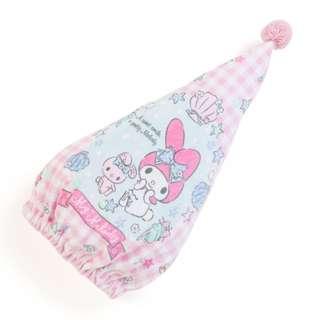 Japan Sanrio My Melody Cap Towel (Shell)