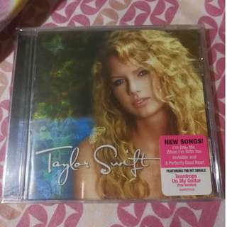 Debut Self-Titled Album - Taylor Swift - made in USA