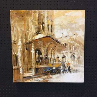 'A Day in Arab Street' 39x30cm & 40x40cm. Sign by artist