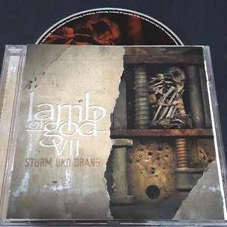 lamb of god (Strum and drans) cd metal brand new
