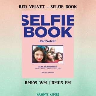 PRE-ORDER RED VELVET - SELFIE BOOK