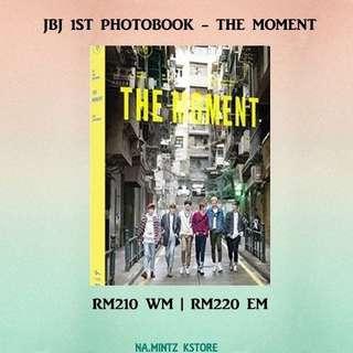 PRE-ORDER JBJ 1ST PHOTOBOOK - THE MOMENT