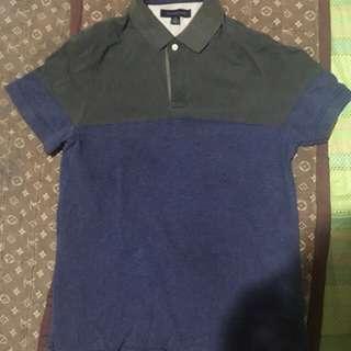 Tommy Hilfiger polo shirt and Banana Republic polo shirt