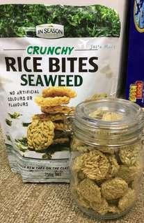 澳洲👨🏻👩🏻👧🏻👦🏻健康小吃-紫菜米餅🍘
