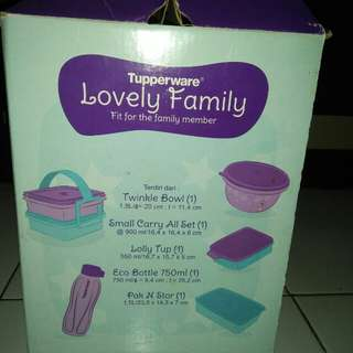 Tuperware lovelly family