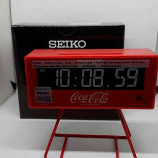 Seiko limited edition digital clock