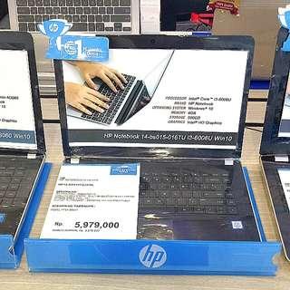 Kredit HP14-BS015TU i3 Tanpa Kartu Kredit Proses 3 menit