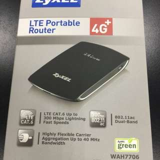 ZyXEL 4G 可攜式無線路由器