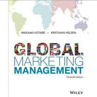 Global Marketing Management, 7th Edition eBook