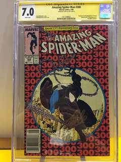 Amazing Spider-man #300 cgc ss signed Stan Lee