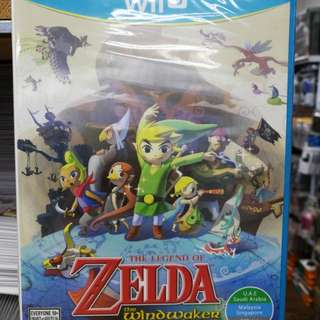 (Brand New) Wii U The Legend of Zelda The Wind Waker HD / US