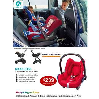 Maxi-Cosi Cabiofix infant Car Seat