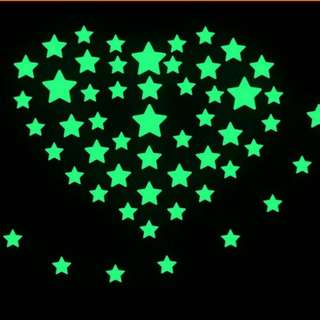 Fluorescent Glow Star In The Dark