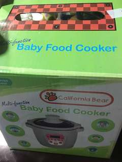 90%New California Bear - Baby Food Cooker