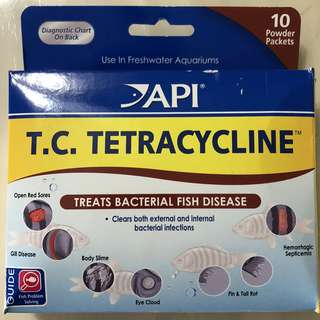 API T.C.TETRACYCLINE for Fishes
