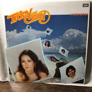 "Tracy Huang With Tony 12"" LP Record - Title : Weekend"