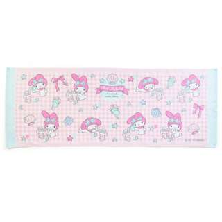 Japan Sanrio My Melody Junior Bath Towel (Shell)
