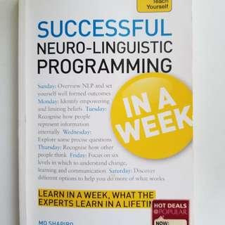 Successful NLP programming