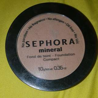 Sephora Amber #36 mineral foundation Compact