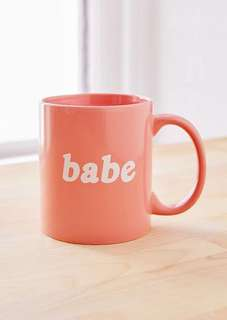 Urban Outfitters BABE mug